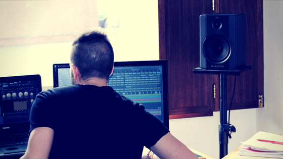 Music production - Hozho in the studio