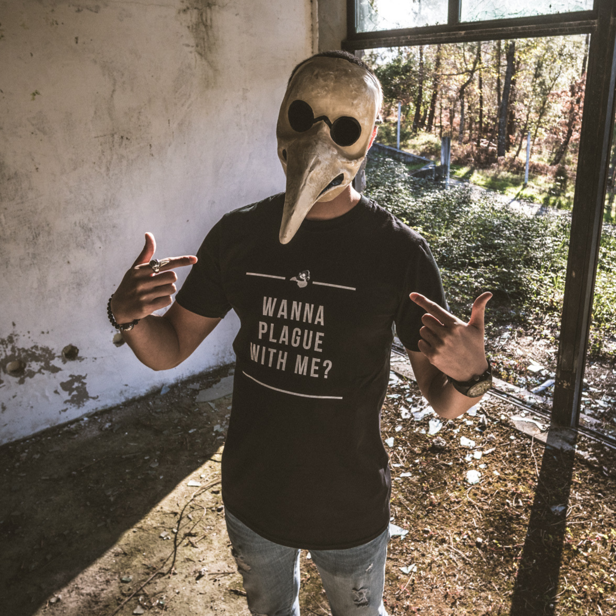 Wanna Plague With Me (Hozho Merchandise)