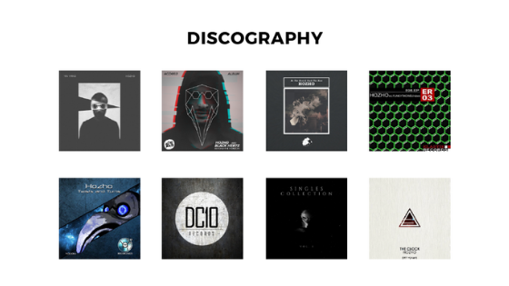 Hozho Discography