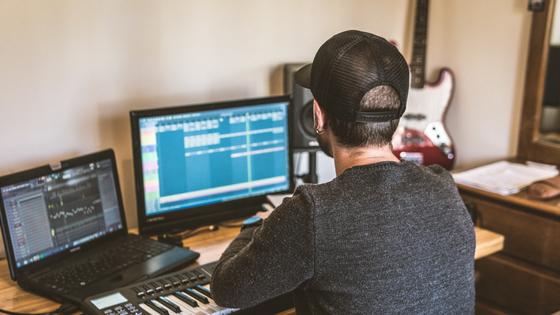 Hozho In The Studio