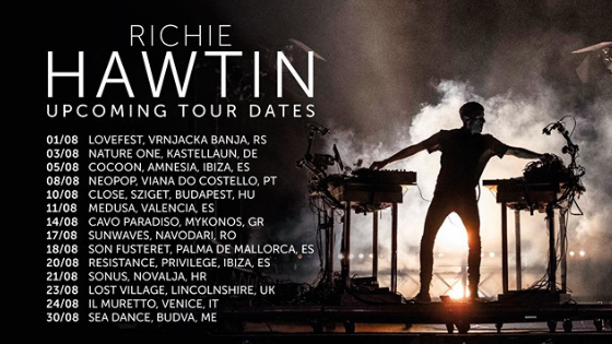 Richie Hawtin Tour Dates